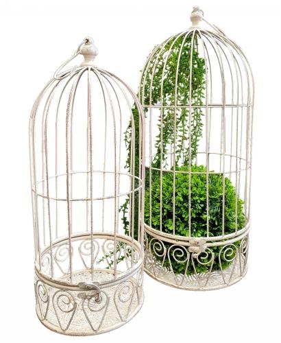 KA3340 - Hanging birdcage S/2