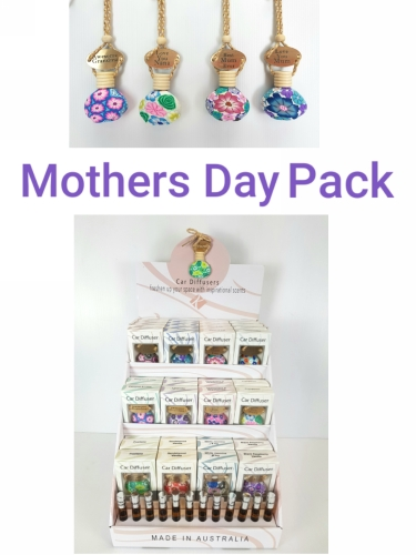 KD7031-MUM PACK - Mothers Day Diffuser w/tag Counter Display Uni