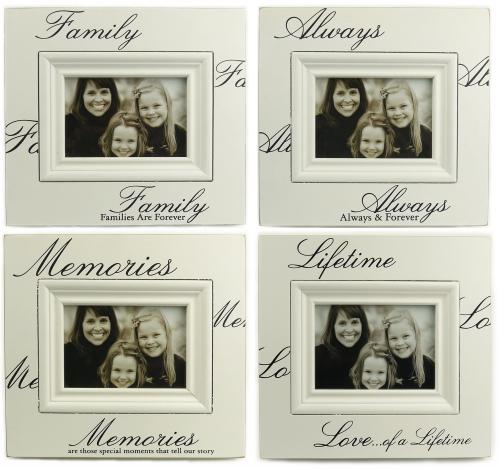 KK1408 - Classic cream wooden photo frame
