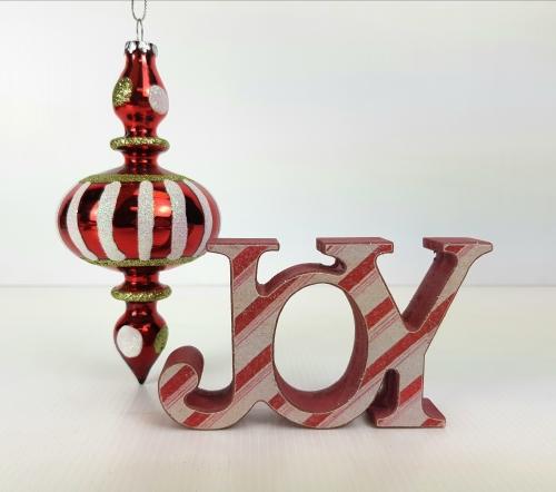 KK1716 - Sml Joy Christmas table top
