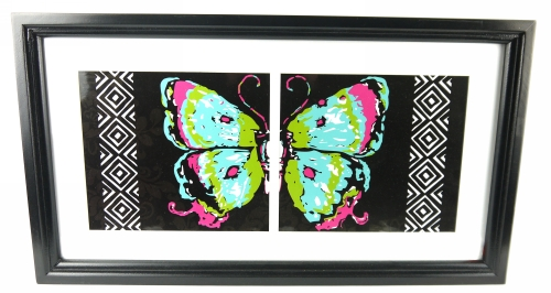 KS1673 - Butterfly print picture frame